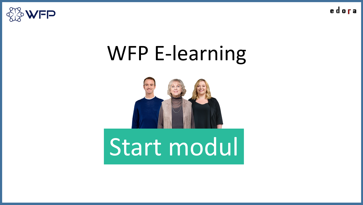 WFP E-learning